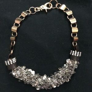 Jewelry - Chunky metal statement necklace